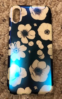 white and blue floral iPhone case Upper Marlboro, 20774