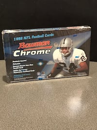 1998 Bowman Chrome Factory Sealed Football Box Possible Manning & Moss Rookie! Muttontown, 11791