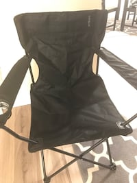 Black foldable camping chair College Park, 20740