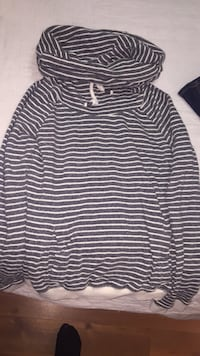 black and white striped long-sleeved shirt Toronto, M6K 2M2
