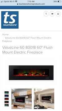 Electric Fireplace *New In Box* unopened Dumfries, 22026