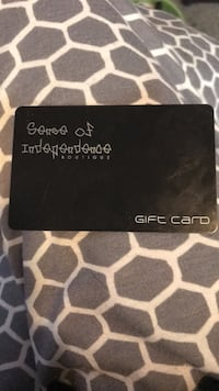 Sense of independence gift card Burlington, L7M 2X3