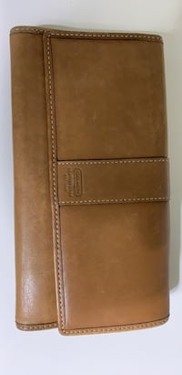 coach leather wallet Suffolk