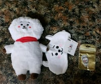 two white bear plush toys San Antonio, 78228