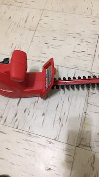 Red and black hedge trimmer Oklahoma City, 73129