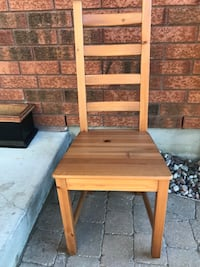 Solid wood desk or corner ladder back chair  Ottawa, K1V 1L5