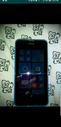 Blue Nokia Lumia 635 (cricket)