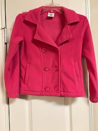 pink Magellan double breasted coat