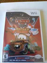 Cars Toon Mater's Game Nintendo Wii Brand New Whitchurch-Stouffville, L4A 0J5