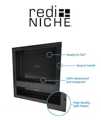 BRAND NEW - Redi Niche 16 in X 20 inch - have 2 available - one has shelf and other doesn't - $100 each or both for $175 Calgary, T2Y 3J8