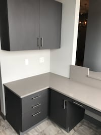 Dr. Office cabinets with quartz tops Gurnee