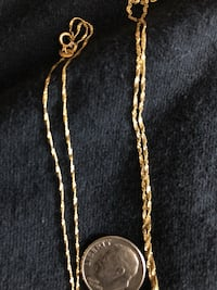 14kt real gold 18 & 20 inches.thin and dante Makakilo, 96707