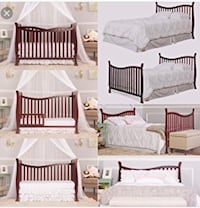 7 in 1 crib/bed for baby/toddler Pearland, 77584