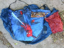 small Spider-Man child's tent