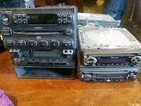 six black and gray 1-DIN car stereo head units Petersburg, 37144
