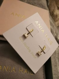 ANIA HAIE EARRINGS NEW WITH POUNCH AND BOX Vaughan, L4H 2C6