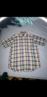 Nautica plaid shirt size M Buford