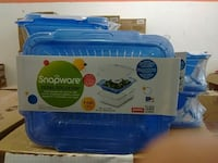 blue and white plastic container Brampton, L6R 3B7