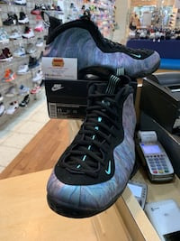 Nike Foamposite One Premium Abalone Size 11 Silver Spring, 20902