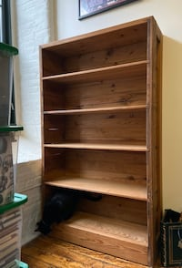 Beautiful Large Solid Wood Bookcase/ Book Shelf