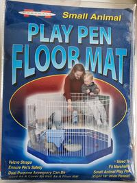 """Marshall Small Animal Play Pen Floor Mat Sized to Fit Eleven 18"""" W"""