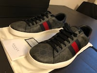 Gucci Ace GG Supreme sneaker Men US 11.5 real leather New York, 10020