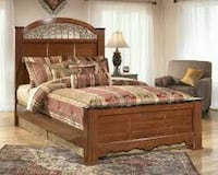 Cherry wood Ashley bed Portsmouth, 23701
