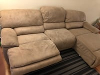 Double Recliner Sectional Sofa (Leons) Toronto, M9B 6M1