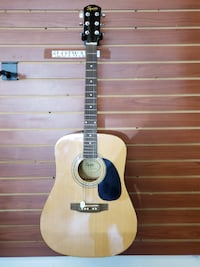 Squier by Fender SA-50 Acoustic Guitar Los Angeles