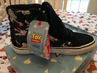 NEW Vans Disney Pixar Toy Story Buzz Lightyear Sk8-Hi Reissue Sneakers never worn Size 5M/6.5W Olney