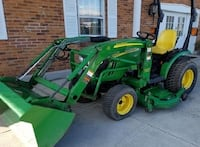 "2007 John Deere 2320, Front Loader & Mower 62"" Deck, Excellent Condition, 3 Cylinder Yanmar Diesel Indianapolis"