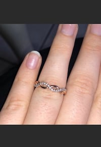 Jared Rose Gold Promise Ring