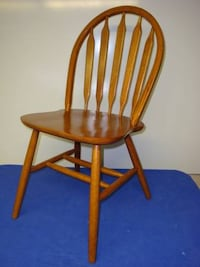 Chair, Wood, Spindle Back, Bow back, Slat Back Ash wood