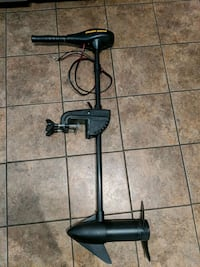 Minn kota trolling motor - battery and charger included