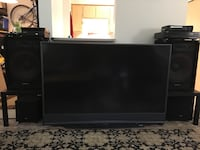 Tv and sound system