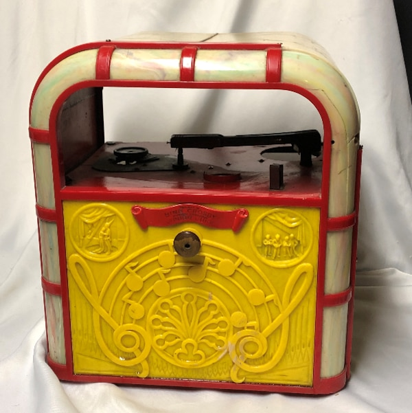1940's Vintage Bing Crosby Junior Juke Celluloid Record Player #999 by  Lindstrom