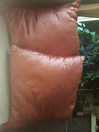 Two large rust colored pillows Lethbridge, T1H 0K9
