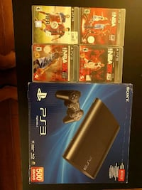 500 GB PlayStation 3 (4 games included)   San Leandro, 94577
