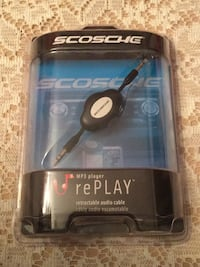 Scosche retractable audio cable Toronto, M1T 3S1
