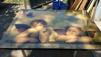 5ft wide x 4ft height hanging Angel picture Fresno, 93710