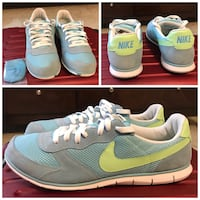 Women's Nike Shoes Size 12 - Blue / Green Morrisville, 27560