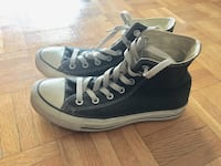 Pair of gray converse all star high-top sneakers women size 8 Montréal, H3H