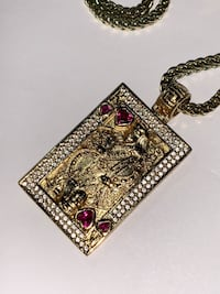 King Ice 14K Gold Plated King and Queen of Hearts Ottawa, K2B 0A7