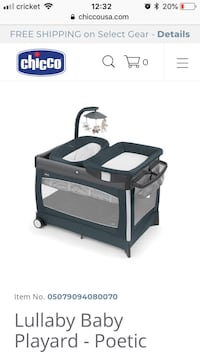 black and gray Graco pack n play Fairfax, 22030