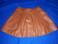 Brown Leather Skirt  Ajax, L1S 7T3
