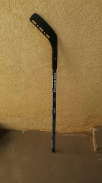 gray and white franklin hockey stick