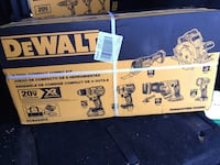 new DEWALT XR 6-Tool 20-Volt Max Brushless Power Tool Combo Kit Dearborn Heights, 48125
