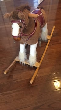white and brown rocking horse Clarksburg, 20871