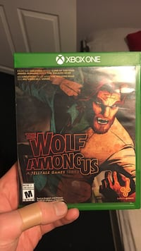 Xbox one The wolf Among us Kamloops, V2B 4L4