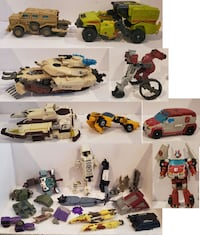 Transformers Lots of Parts & Pieces Brawl, Ratchet Tampa